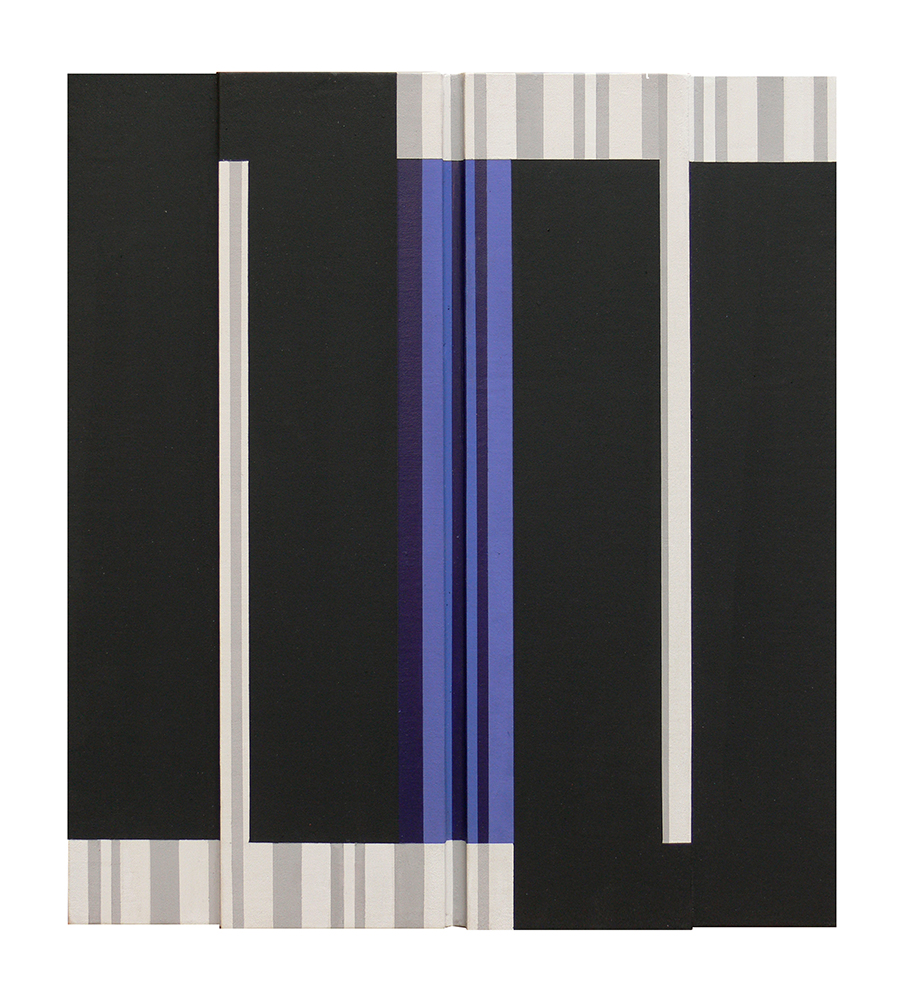 2014 Acryl sur toile collée sur contre-plaqué 50,5 x 47 x 3 cmbd