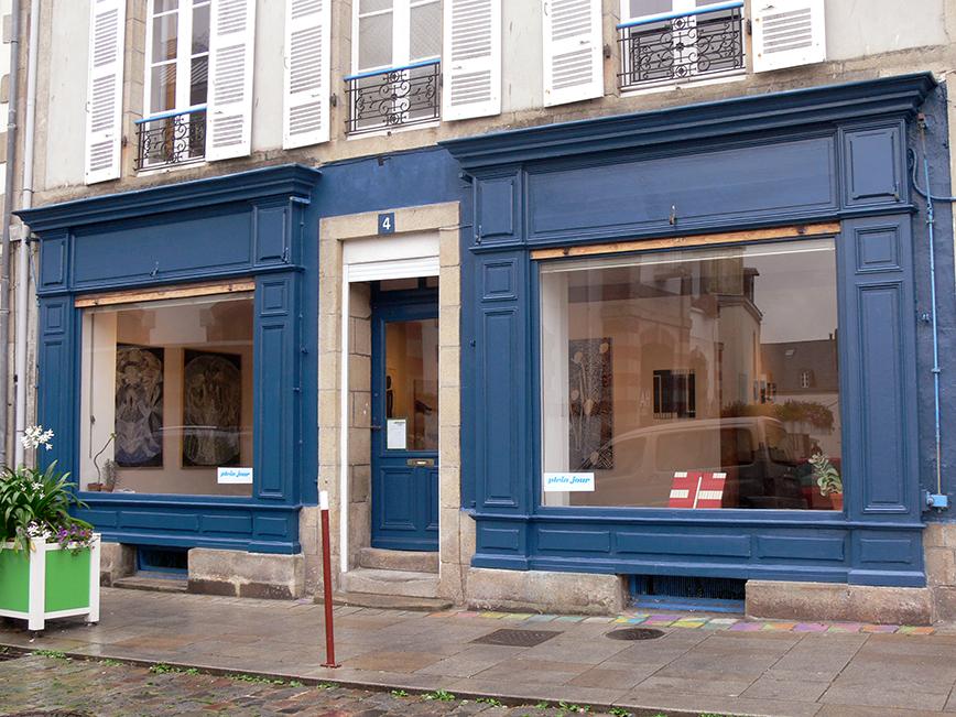 Vitrine Galerie Plein-jour bd